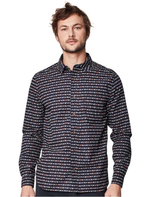 Skjorte Whippet økologisk bomuld