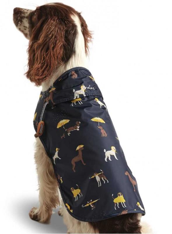 Hunde-regnfrakke Print, fra Joules