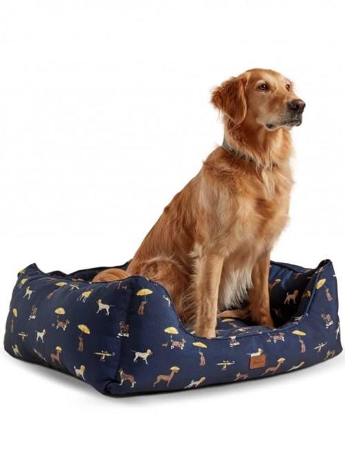 Hundekurv med print Box Bed fra Joules