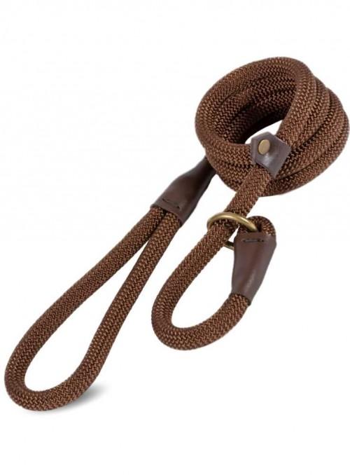 Slip-line 2-i-1 hundesnor Deluxe Rope