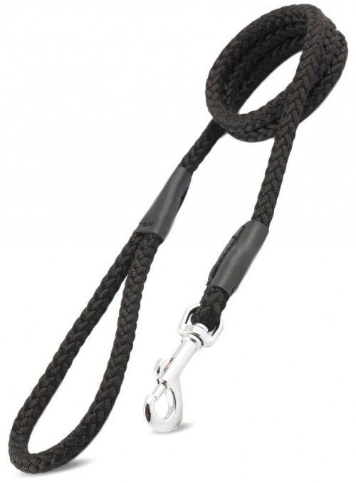 Hundesnor sort nylon rebline