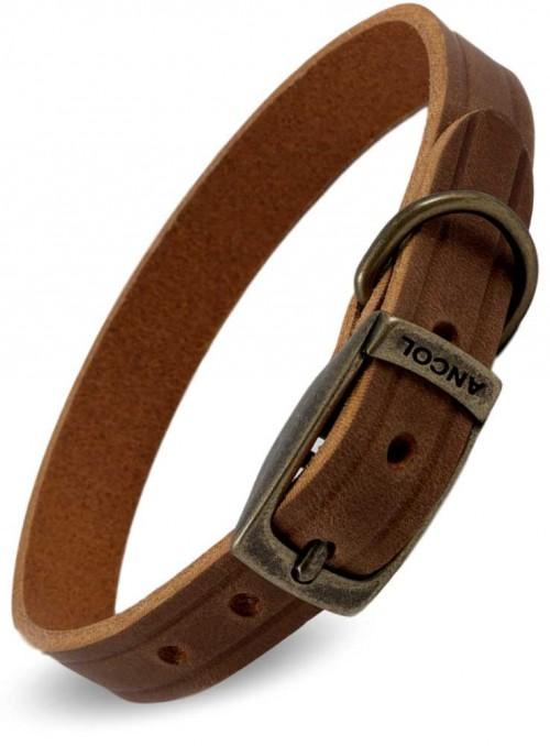 Hundehalsbånd Latigo læder