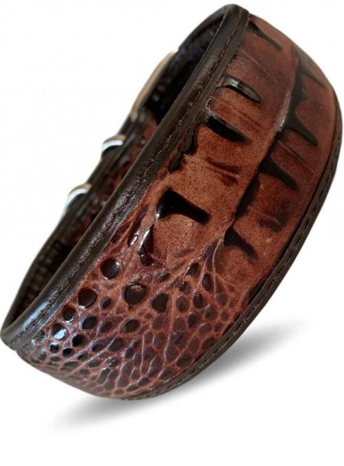 Halsbånd til mynde designet of håndlavet i UK, Python
