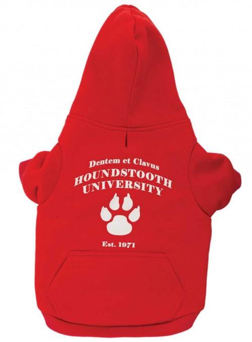 Hundedækken universitetstrøje til hund