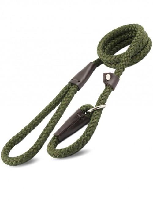 Slip-line 2-i-1 hundesnor Green Rope